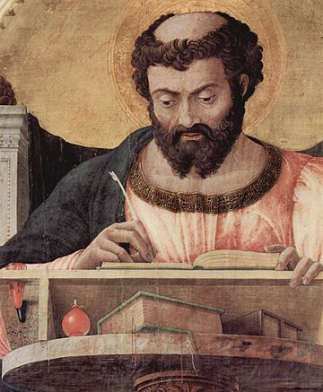St. Luke by Andrea Mantegna